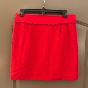 J. Crew.l mini skirt